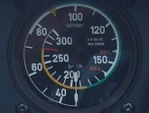 Winter Speed Indicator