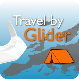 Travel by Glider Logo Groß