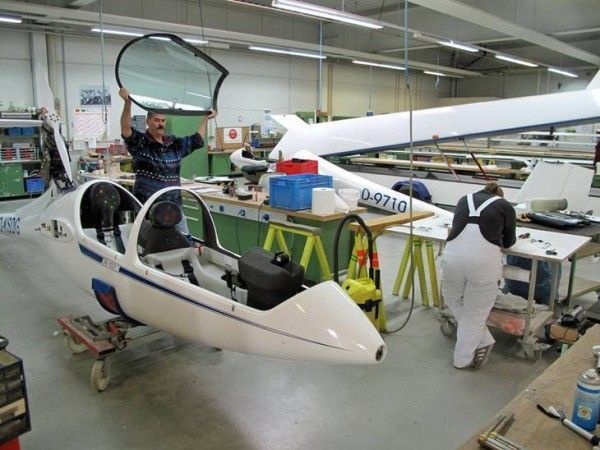 65 well trained employees make sure that DG Flugzeugbau will be able to compete in the future market of developing and producing innovative, trendsetting designs
