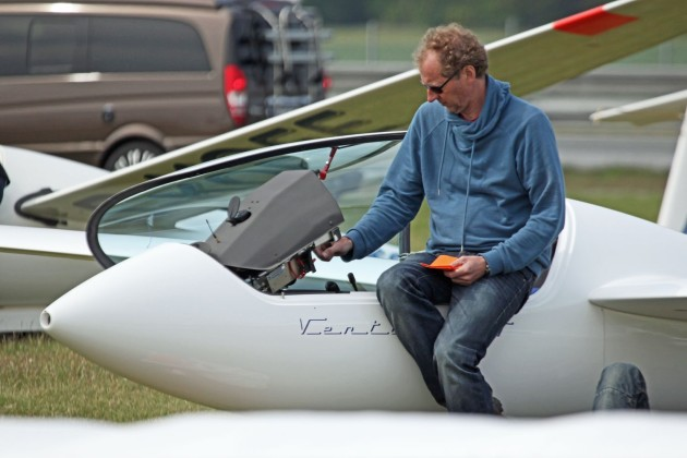 Jaap Vis, member of the board  Dutch gliding Accociation- KNvVL.